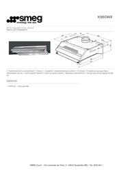 Smeg KSEC66X Leaflet