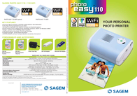 Sagem Photo Easy 110 WiFi PE110WIFI Leaflet