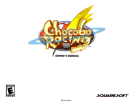 games-sony-ps--psx chocobo racing Manuale Utente