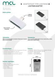 MCL ACC-IP05/AZ Leaflet