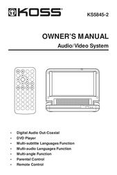 Koss KS5845-2 User Manual