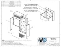 Black Hawk Labs 8U + 4U MiniRaQ Secure MRQ301S12 Leaflet