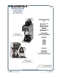 BLOOMFIELD 1072 User Manual