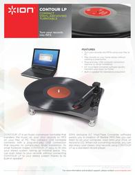 ION Audio Contour LP CONTOURLP Leaflet