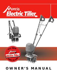 Mantis ElectricTiller User Manual