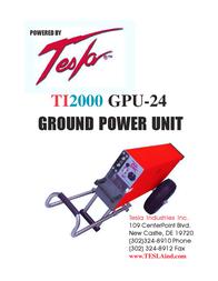 Tesla TI2000GPU-24 Manual De Usuario