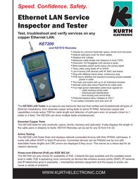 Kurth Electronic KE7200 0.49420 Leaflet