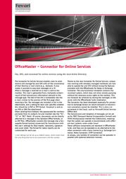 Ferrari electronic OfficeMaster Suite 10 48125 Leaflet