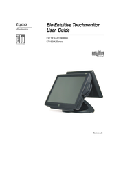 """Elo Touch Solution 1529L IntelliTouch 15"""" LCD Desktop Touchmonitor E897594 User Manual"""