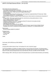 Micropac SATA-2PRD Leaflet