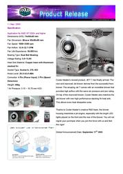 Cooler Master JET 7 (ACB-V83) ACB-V83-U1 Leaflet