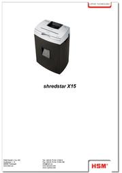 HSM shredstar X15 1017 Leaflet