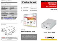 Lorex Technology SHS-2SA Leaflet