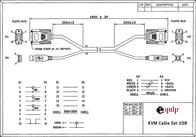 Equip Cable Set USB 331290 Leaflet