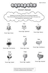 Wild Planet Puku Power Sign User Manual