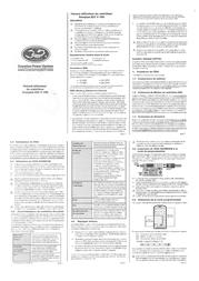 Scorpion Operating voltage continuous current connector system SP-4S-COM60A-ESC-V3-BULK Leaflet