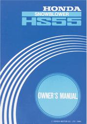 Honda Untitled User Manual