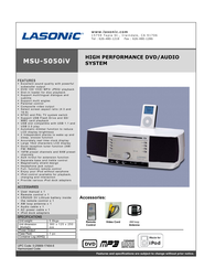 Lasonic msu-5050iv Specification Guide