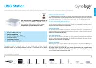 Synology USB Station USB STATION Leaflet
