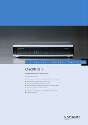 Lancom Systems 821+ LS61143 User Manual