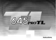 Mamiya 645 PRO TL User Manual