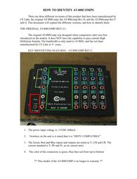 CE labs av400comp User Guide
