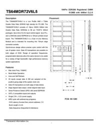 Transcend 512MB DDR266 ECC Registered Memory TS64MDR72V6L5 User Manual