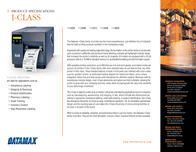 Datamax O'Neil I-4208 R42-00-03000Y07 Leaflet