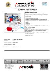 Atomic Accessories WIIA.43 Leaflet