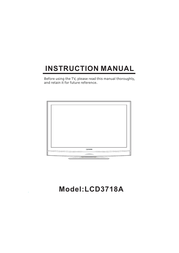 Curtis LCD3718A User Manual