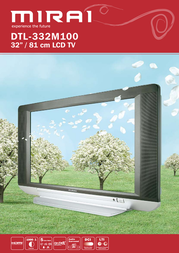 "Mirai 32"" LCD TV DTL-332M100 Leaflet"