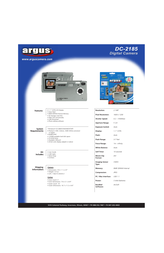 Argus dc-2185 Specification Guide