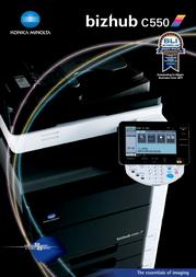 Oldsmobile bizhub Color Scanner C550 User Manual