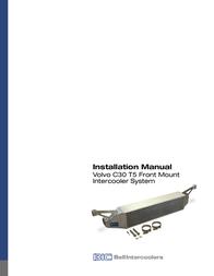 BIC VOLVO C30 T5 User Manual