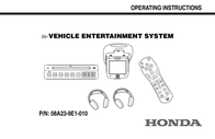 Honda 08A23-9E1-010 User Manual