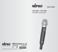 MIPRO ACT-50H ACT 50H(6A) User Manual