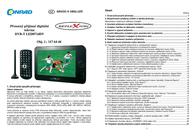 "Reflexion LED714DVPortable LED TV, 17.5 cm(7 "") DVB-T (aerial) LED0714DV Data Sheet"