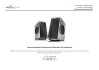 Energy Sistem Acoustics 250 390076 User Manual