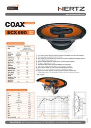 Hertz ECX 690 ECX690 Leaflet
