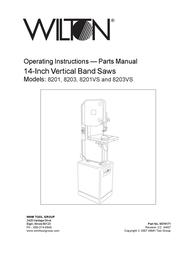 Wilton 8201VS User Manual