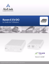 AirLink RAVEN-E EV-DO User Manual