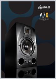 Adam Audio A7X Leaflet