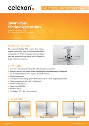 Celexon Multicel 60110 Pro 1090124 Leaflet