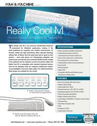 Man & Machine Really Cool MEDITECH RCKM/G2 Leaflet