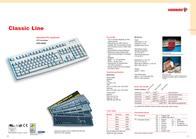 Cherry Colored standard PC keyboards G83-6105, Belgium, black G83-6105LRNBE-2 Leaflet