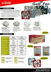 Zaward AFNS-9225L-R110 Leaflet