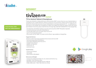 Tivizen  iCube Pico Android 8809208580565 Data Sheet