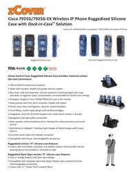 zCover gloveOne CI925 Ruggedized HealthCare Grade Silicone CP-7925G-CI925HYL User Manual