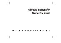 Mordaunt-Short MS907W User Manual