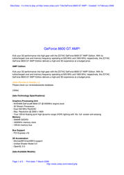 Zotac GeForce 8600 GT 256Mb DVI Active ZT-86TEQ2P-FPL Leaflet